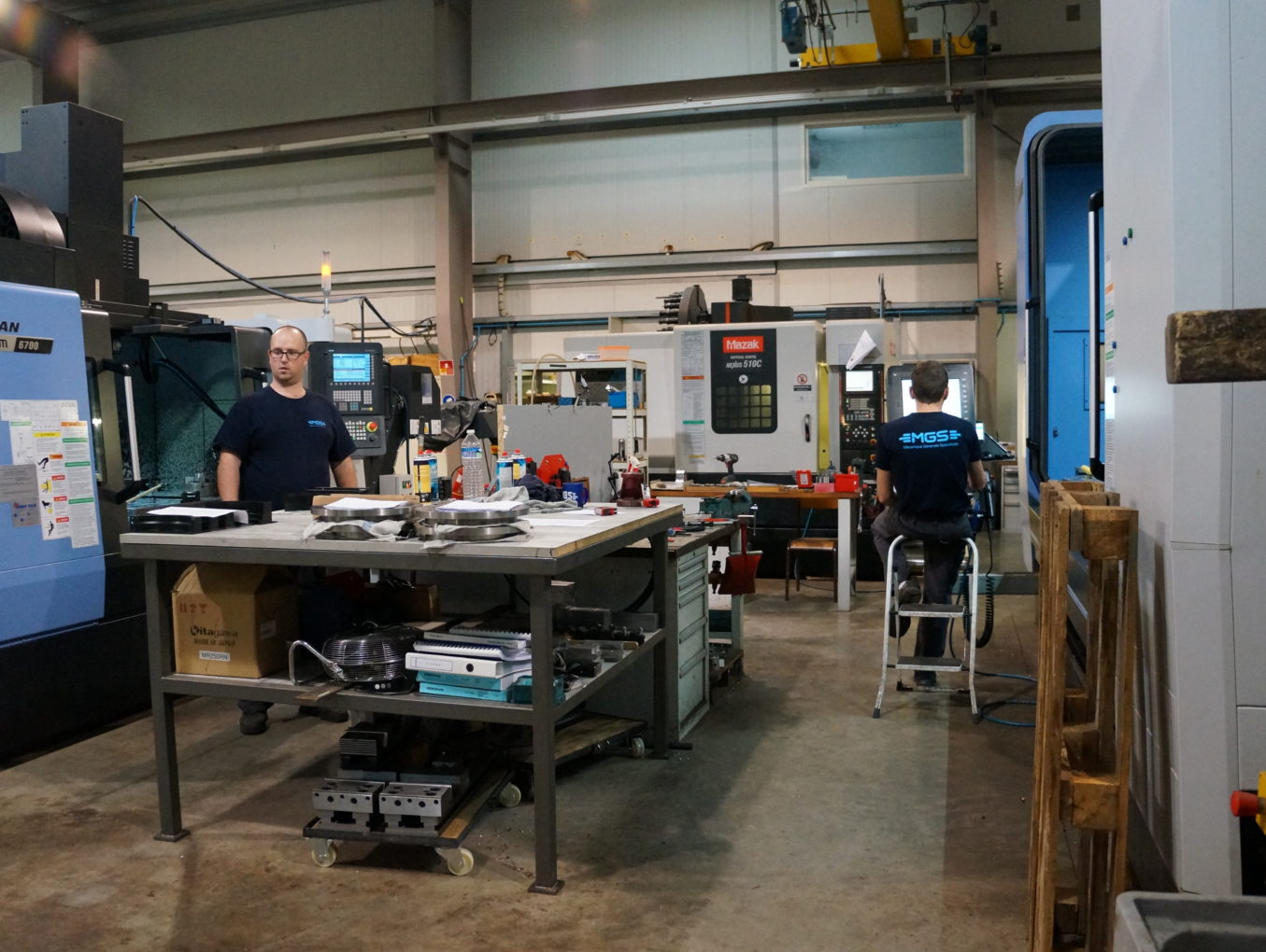 L'atelier MGS - Partie 3